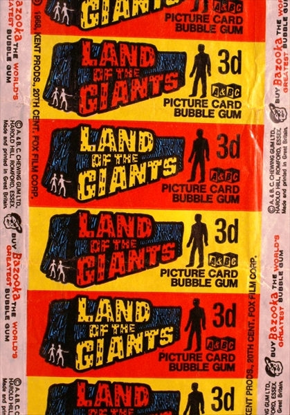 Land of Giants A&BC pack